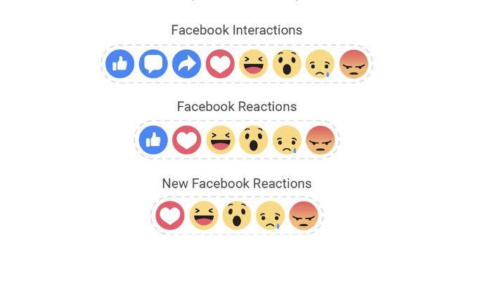 """Facebook: Reaktionen lösen langsam den """"Gefällt mir""""-Button ab"""