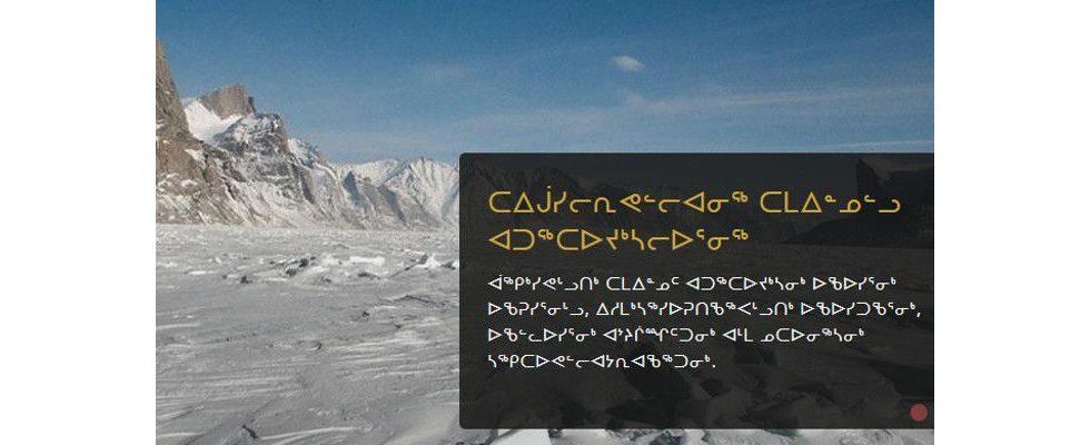 Facebook wird in Inuktut übersetzt – Die digitale Vernetzung der Inuit