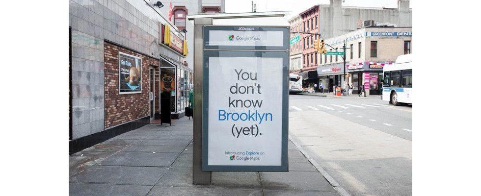 """""""Du kennst Brooklyn (noch) nicht"""" – Google mit kreativer Outdoor-Kampagne in New York"""