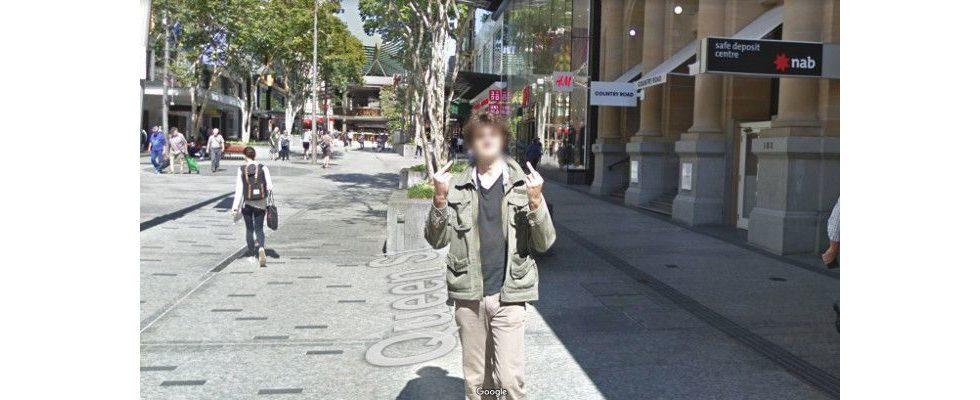 Australier zeigt Google in Street View eine ganze Straße lang den Mittelfinger