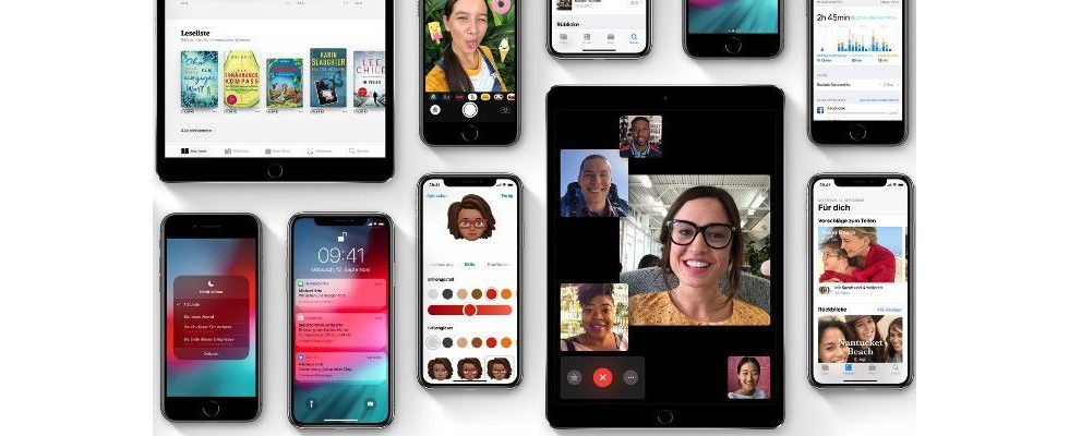 iOS 12 ist ab 17. September erhältlich
