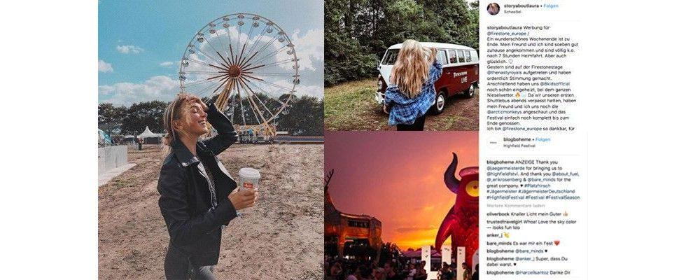 Influencer Marketing x Festivals: Wie Brands zur Festival Season mit Instagram-Sternchen zusammenarbeiten
