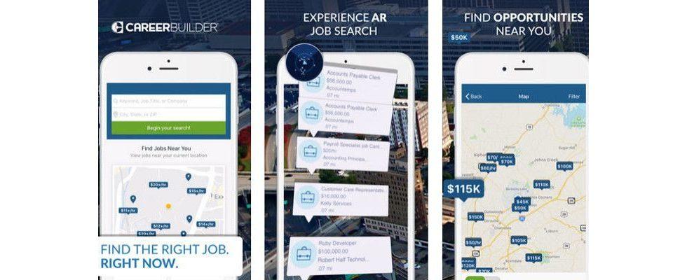 CareerBuilder setzt mit neuer AR App Maßstäbe bei der Jobsuche