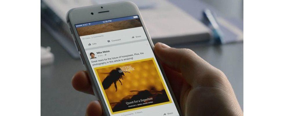 Links in Stories und Recirculation: Facebooks neue Instant Articles Tools