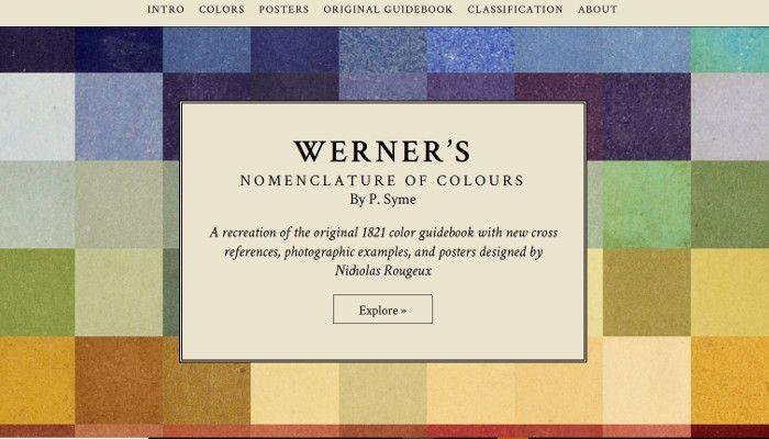 Ein Traum Fur Webdesigner Altes Naturfarben Handbuch Digital
