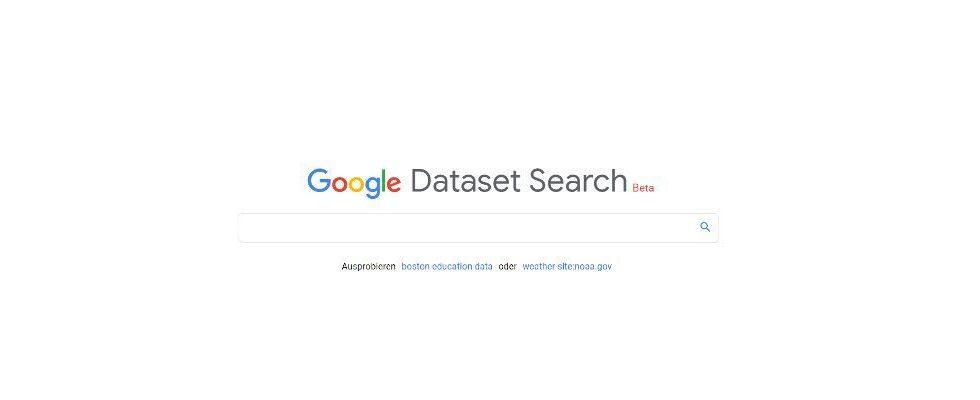 Google launcht Dataset Search und hilft Journalisten und Wissenschaftlern