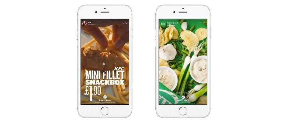 Facebook Stories Ads nun weltweit verfügbar