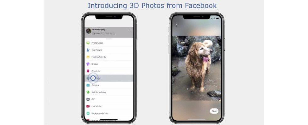 3D-Fotos bei Facebook – ein aufregendes Feature