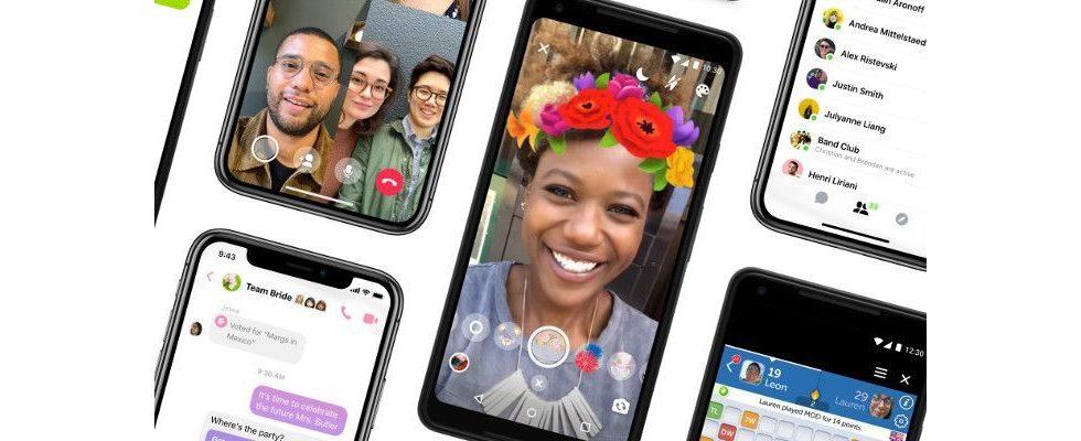 Facebook entrümpelt Messenger: Nachrichten jetzt wieder im Mittelpunkt