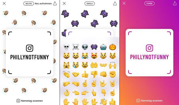 Instagram Nametags: Wie du dein Tag editierst und andere