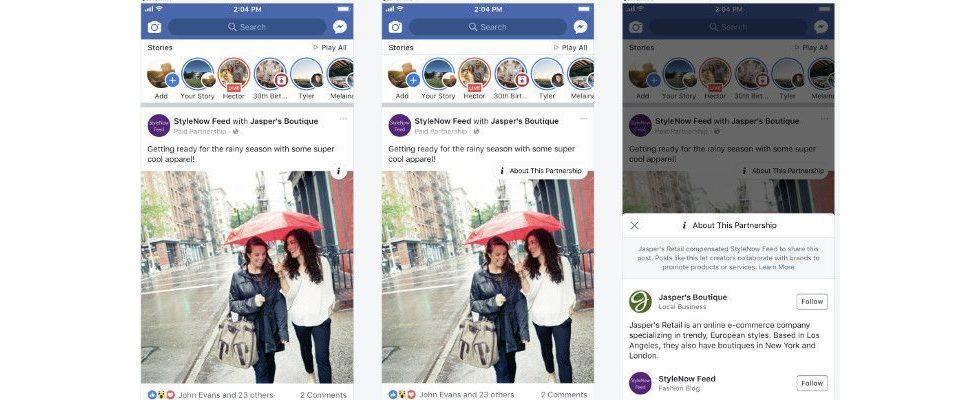 Facebook optimiert Werbelösungen: Neue Branded Content Tags, qualitativere Ads und Co.