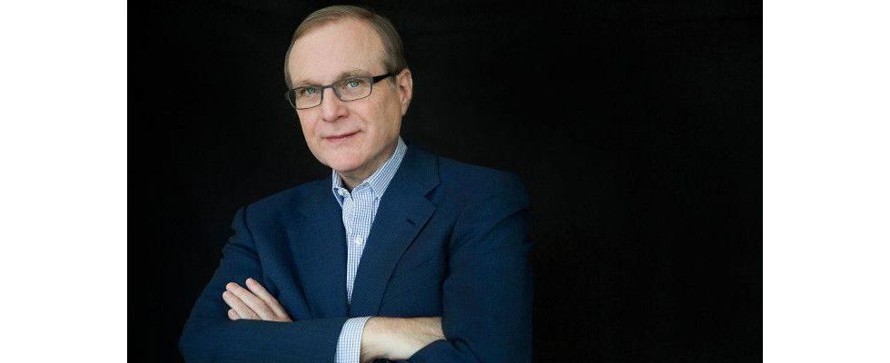 Microsoft-Mitgründer Paul Allen ist im Alter von 65 Jahren gestorben