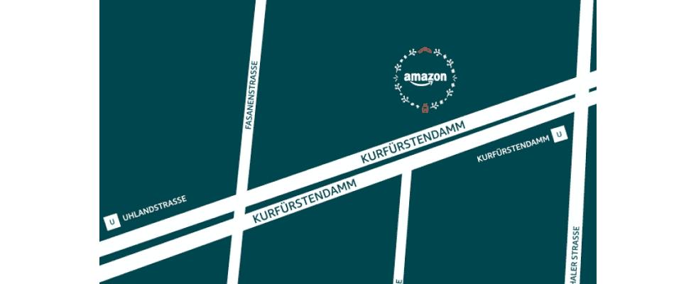 Amazon eröffnet zur Vorweihnachtszeit Pop-up Store in Berlin