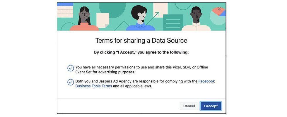 Facebook macht Daten-Sharing über Pixel und Offline Events transparent