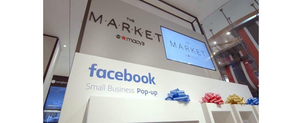 Facebook öffnet 9 Pop-up Stores bei Macy's