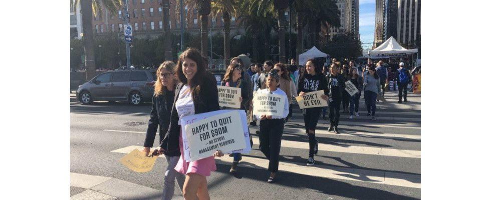 Google Walkout: Knapp 17.000 protestieren weltweit für einen Wandel in der Branche