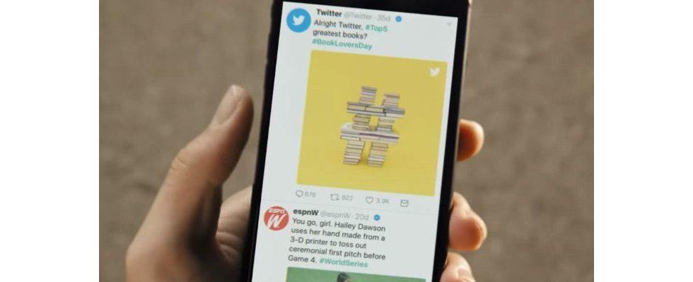 Twitter integriert Kategorien, um relevante Tweets schneller zu finden