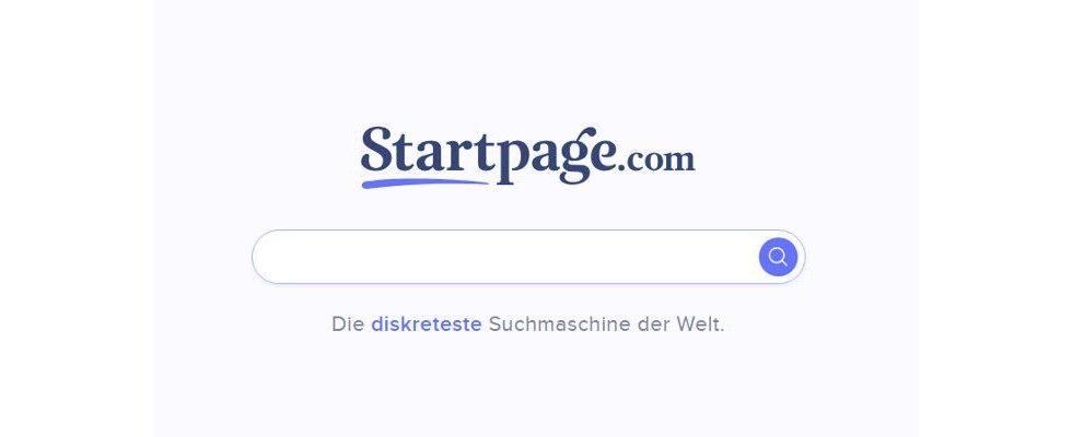 Anonymes Surfen über Startpage.com jetzt möglich