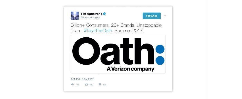 Oath wird in Verizon Media Company umbenannt