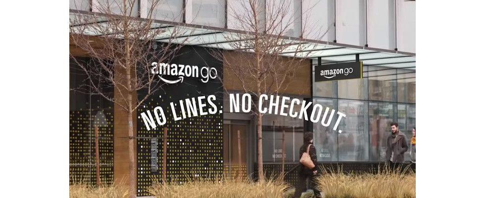 Amazon testet Check-out ohne Kassen für größere Läden