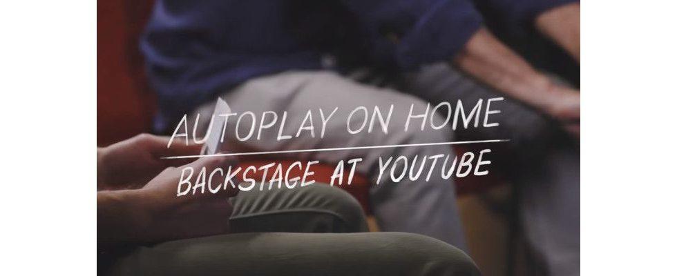 Autoplay kommt für den Home Tab bei der YouTube App