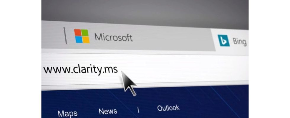 Bings Clarity lässt Webmaster Klicks und Mausbewegungen nachvollziehen