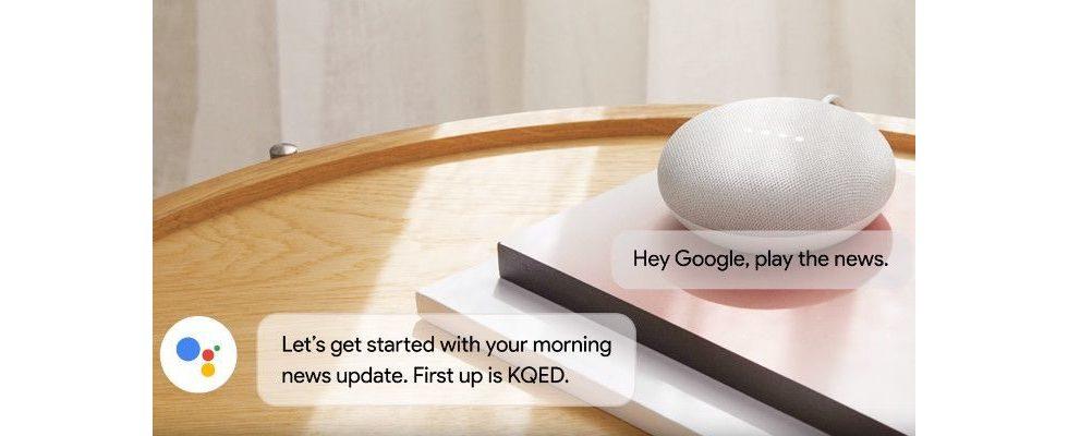 Google bringt die Voice-Version von Google News über den Assistant