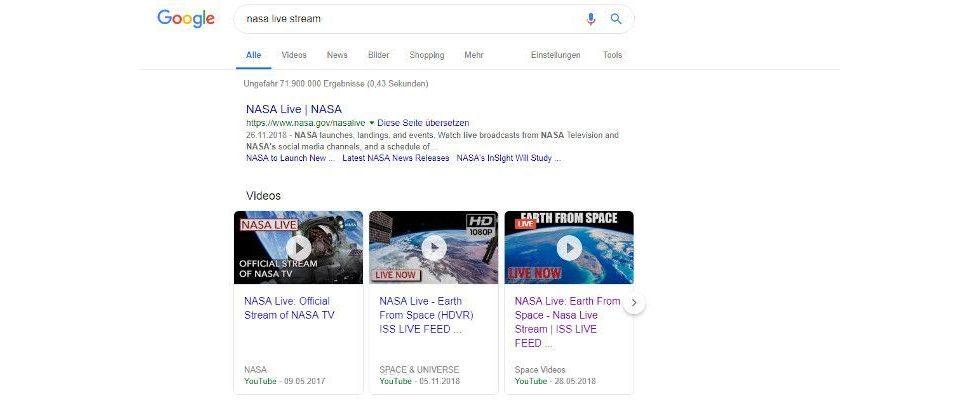 Google macht Live Streams leichter zu finden: Strukturierten Daten und Indexing API sei dank