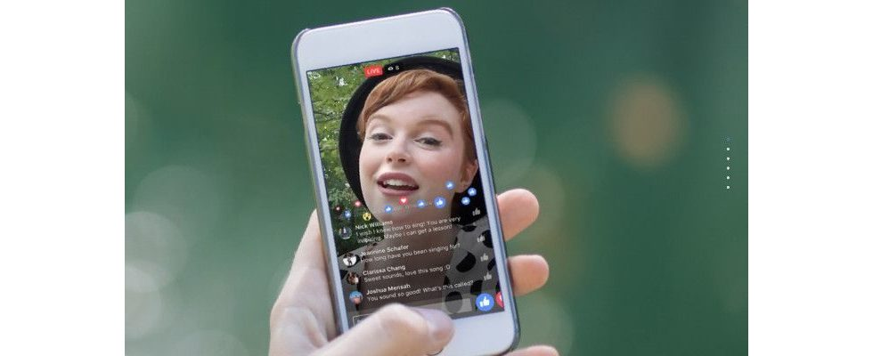 Facebook testet Shopping Feature für Livestreams
