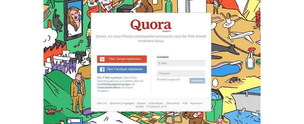 Datenleck bei Quora: 100 Millionen Nutzer betroffen