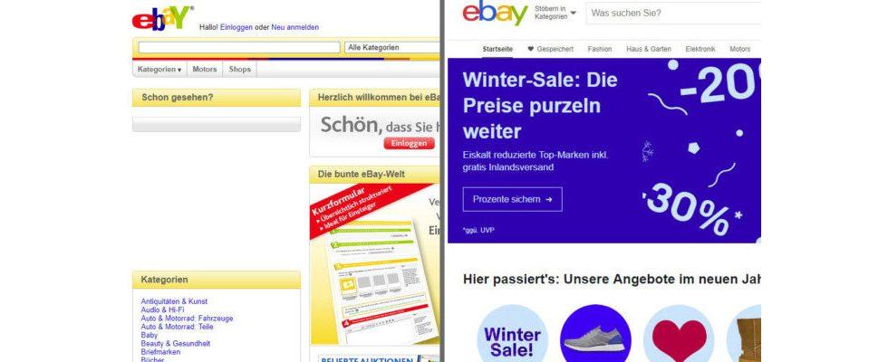 Die 10 beliebtesten Websites Deutschlands stellen sich der 10 Year Challenge