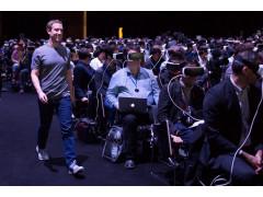Zuck wollte niemand mehr sehen. (c) Mark Zuckerberg, Facebook beim #MWC2016