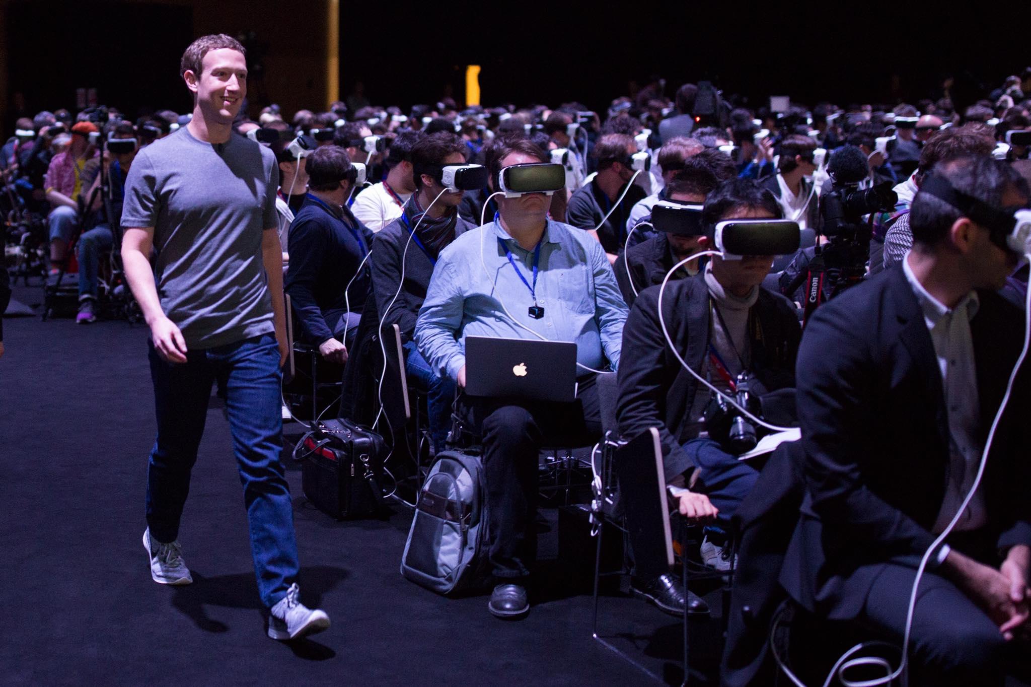 Zuck wollte niemand mehr sehen. © Mark Zuckerberg, Facebook beim #MWC2016