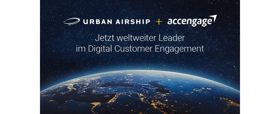 Urban Airship übernimmt Accengage und stärkt Präsenz in Europa