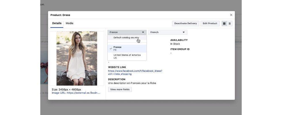 Facebook bringt Dynamic Ads, die automatisch die Sprache wechseln