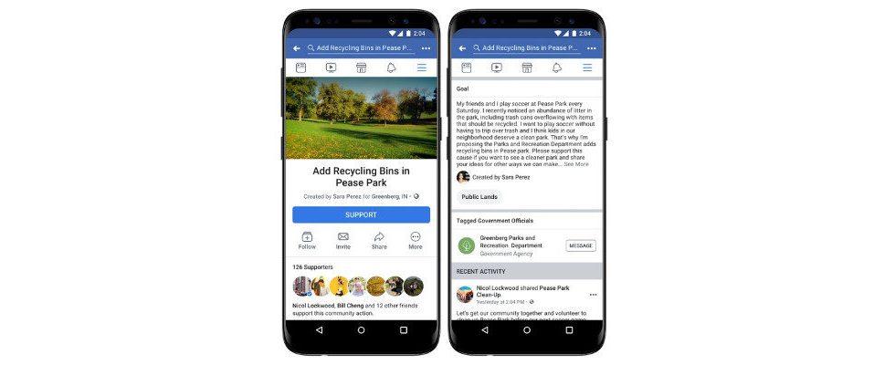 Hilfreich, aber auch gefährlich? Facebooks neues Feature für Petitionen