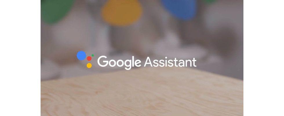 Mit dem Google Assistant per Stimme Käufe verifizieren