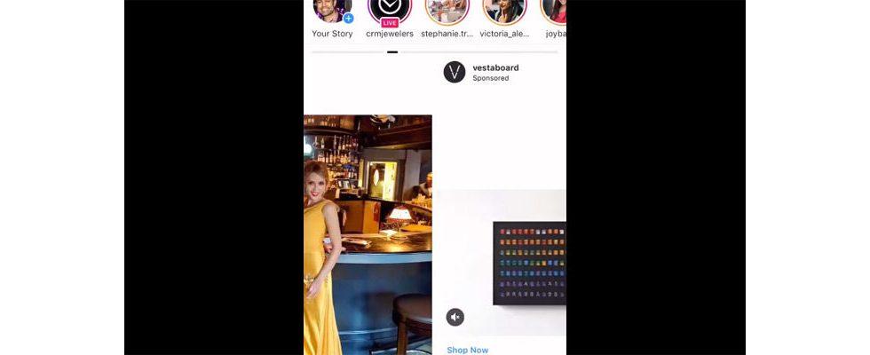 Tap-Through: Instagram rollt versehentlich horizontalen Feed aus