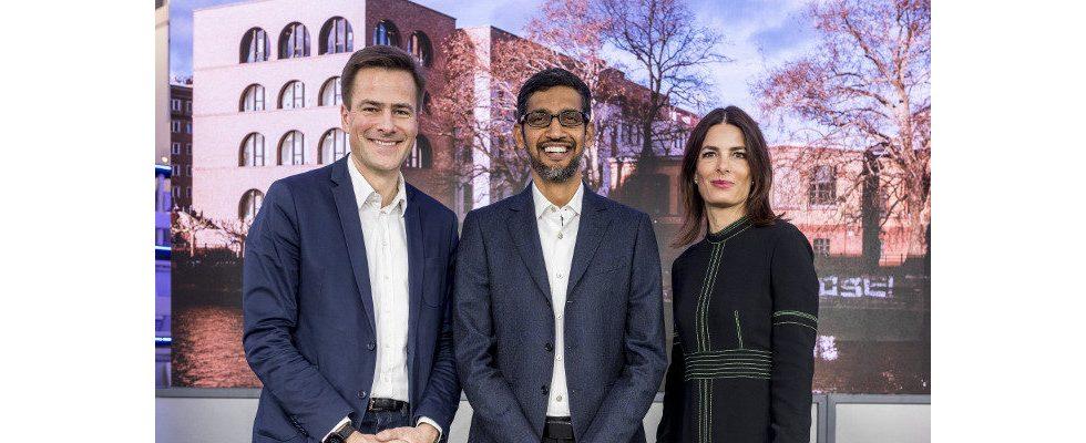 Google mit neuem Büro in Berlin und Ausbau der Zukunftswerkstatt