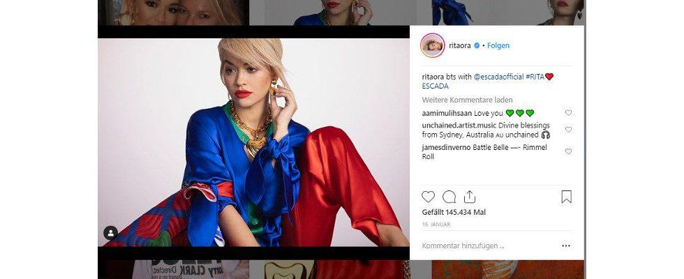 Stars wie Rita Ora und Ellie Goulding beugen sich der Kennzeichnungspflicht
