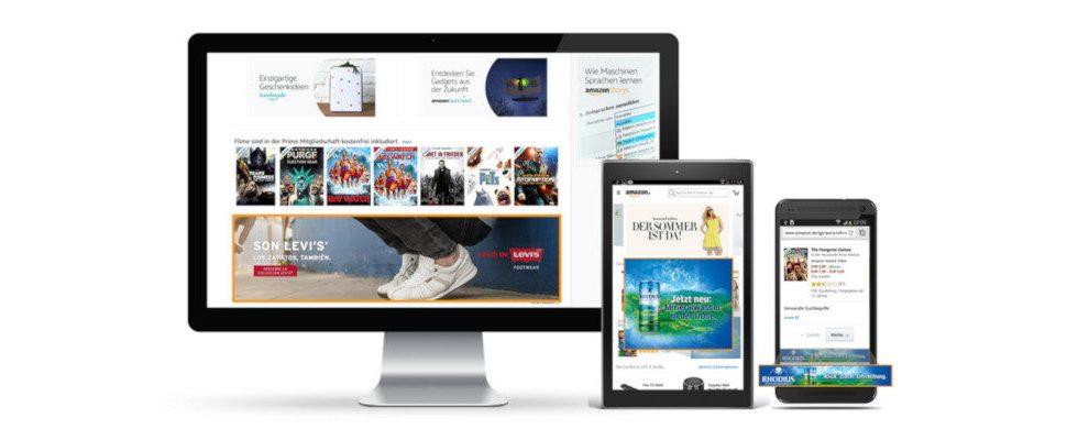 US-Werbemarkt: Amazon wächst, Facebook und Google verlieren Marktanteile