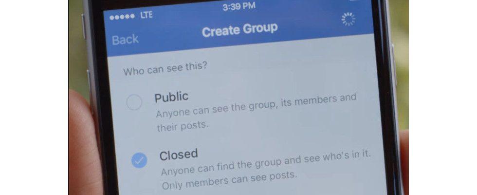US-Repräsentantenhaus zweifelt Privatsphäre in Facebook-Gruppen an