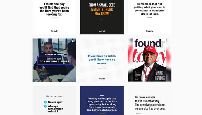 Von 0 auf 10.000 Follower in 14 Tagen: Foundrs Erfolg auf Instagram