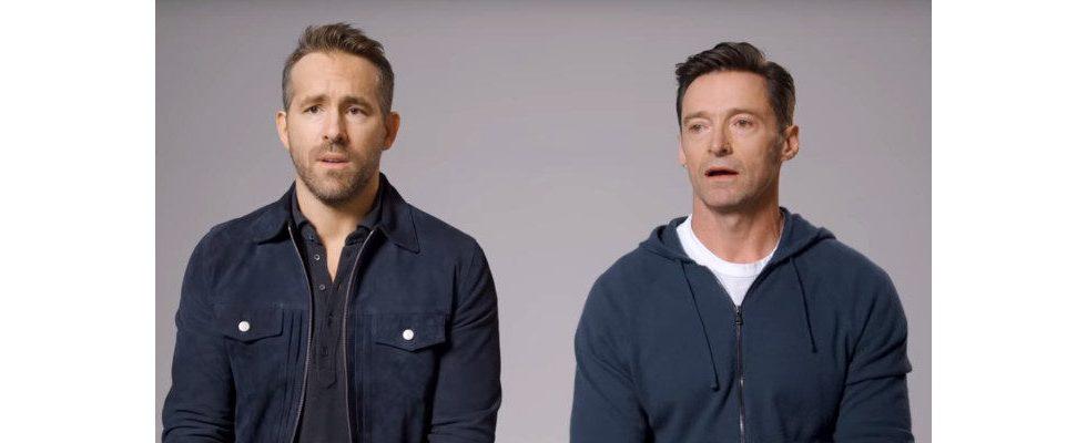 Viraler Marketing-Stunt: Ryan Reynolds und Hugh Jackman mit grandiosem Social Media-Spektakel