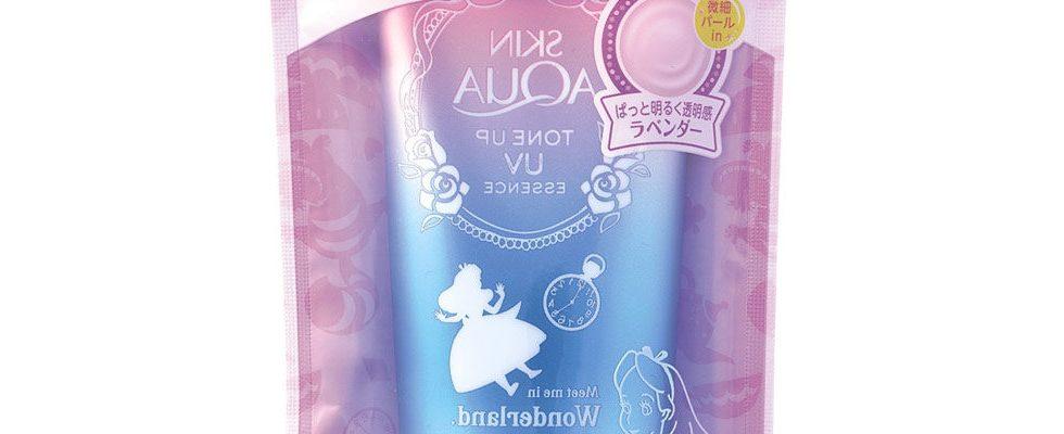 Selfie Sonnencreme: Japanischer Kosmetikhersteller verkauft Produkt mit Spiegelschrift
