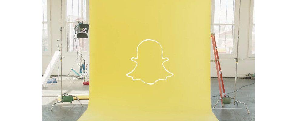 Snapchat denkt über bleibende Snaps nach