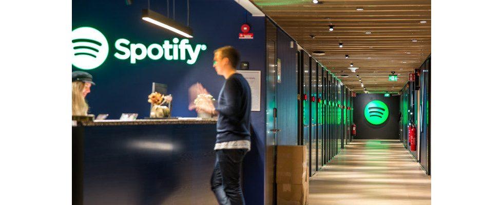 Trotz wachsender Nutzerzahlen: Spotify schreibt weiterhin rote Zahlen