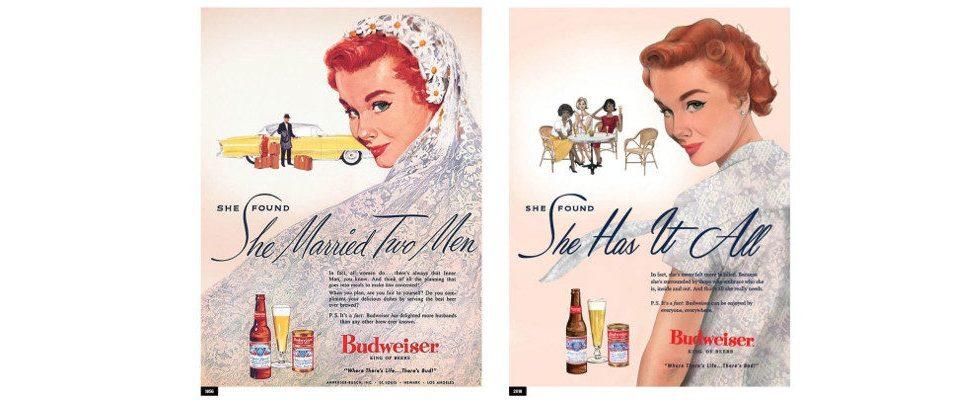 Budweiser korrigiert lächerlich diskriminierende Werbung aus den 50ern