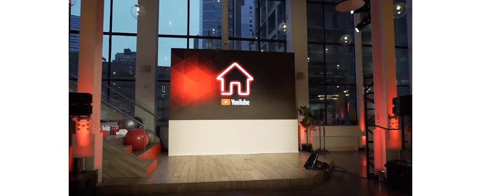 YouTubes Pop Up YouTube House auch zum Verkauf von YouTuber Merchandising genutzt