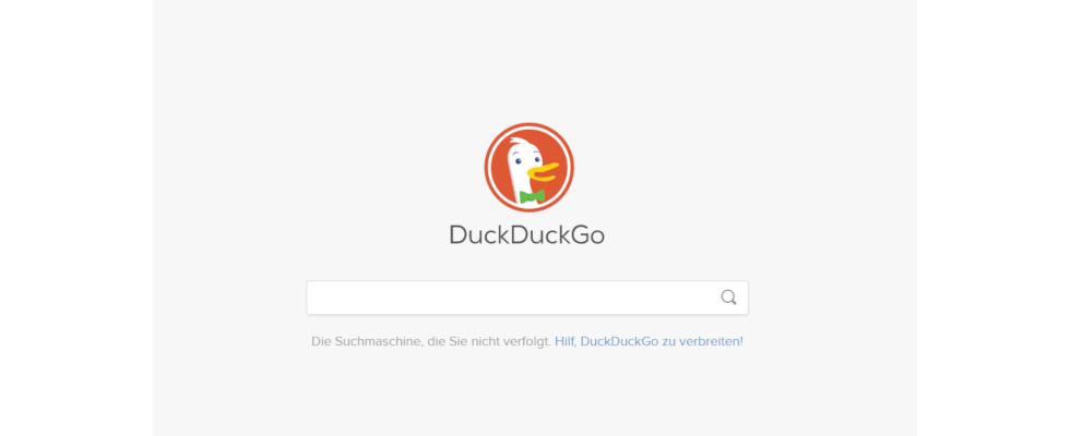 Google Chrome schlägt ab sofort DuckDuckGo als voreingestellte Suchmaschine vor